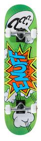 Enuff Pow Skateboard-green-Rollback Skating