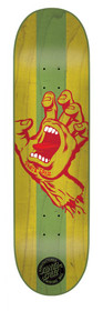 Santa Cruz Stained Hand Team Deck-Green