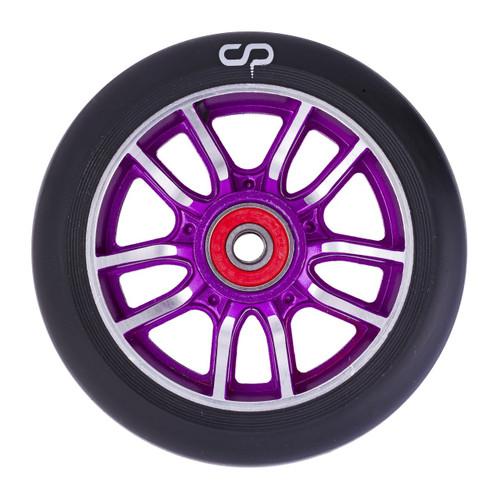 Crisp F1 Forged Wheel - 110mm - Black on Purple