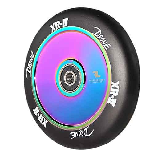 Drone XR-2 Wheel - 110mm - Black/Neo