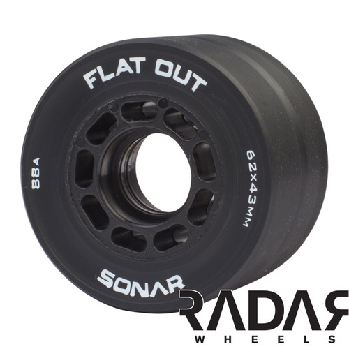 RADAR SONAR FLAT OUT SKATE WHEELS