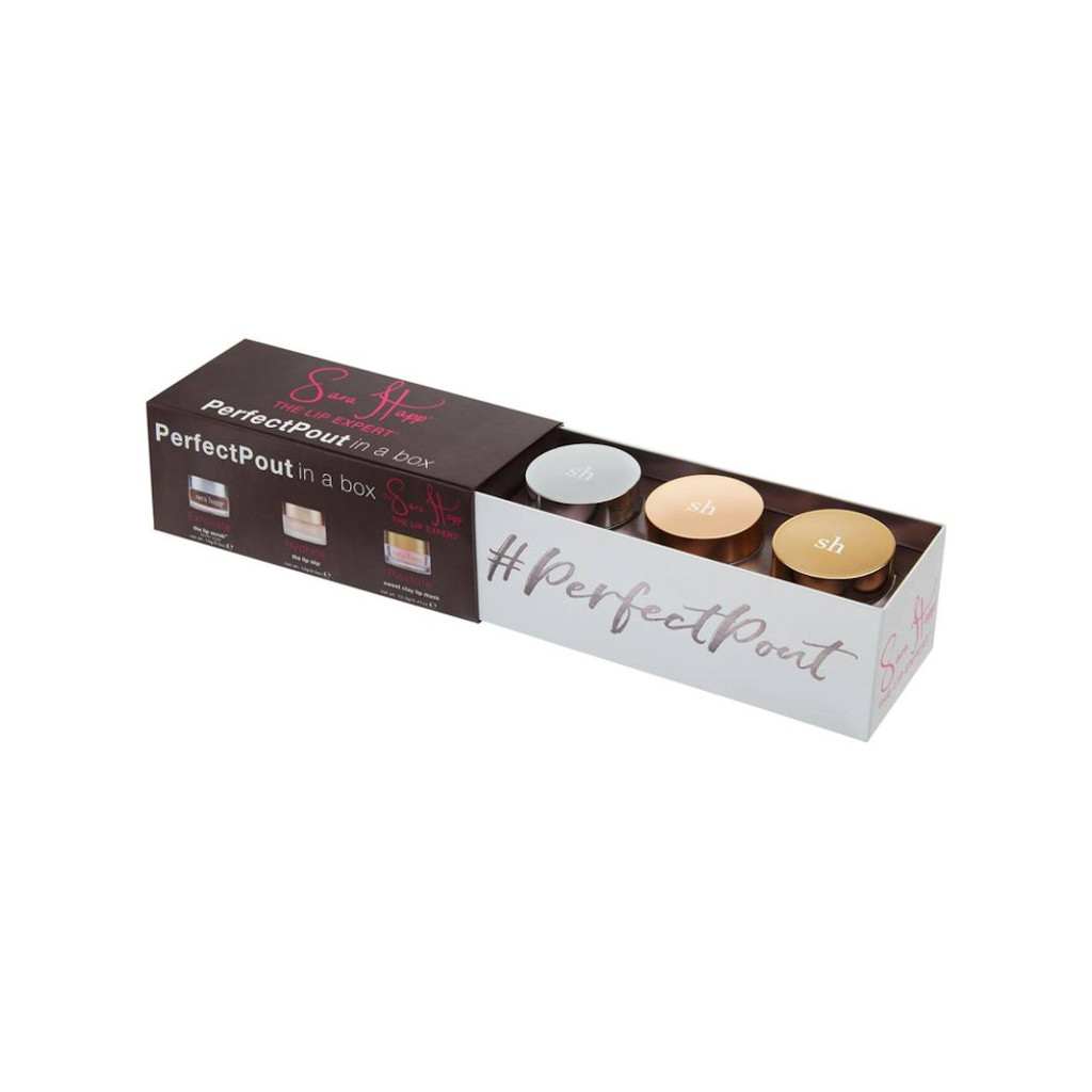 Sara Happ Perfect Pout in a Box Collection - Limited Edition