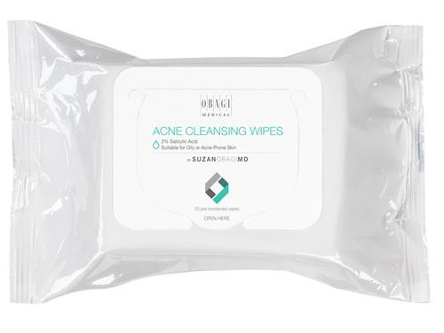 SUZANOBAGIMD Acne Cleansing Wipes 25 Wipes