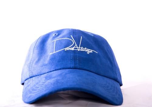 Indian Village Dad Hat - Blue Suede