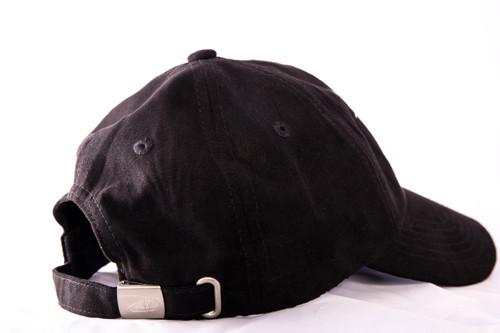 Indian Village Dad Hat - Black Suede