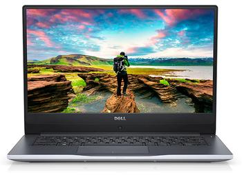 """Dell Inspiron 14-7472 – 14"""" Touch, Intel i5 – 8250U, 8GB RAM, 128GB SSD, GeForce MX150 2GB, Silver"""