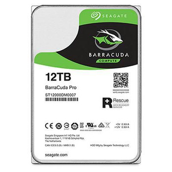 Seagate Barracuda ST12000DM0007 12TB Serial ATA III internal hard drive