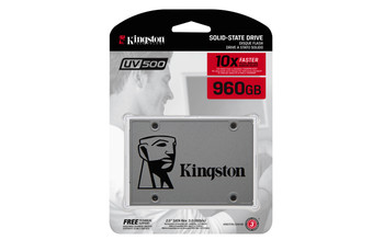 "Kingston Technology UV500 SSD 960GB 2.5"" Serial ATA III"