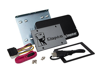 "Kingston Technology UV500 SSD 480GB Desktop/Notebook Upgrade Kit 480GB 2.5"" Serial ATA III"