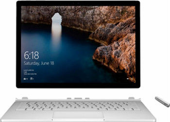 "Microsoft Surface Book, Intel Core i7 – 2.60GHz, 16GB RAM, 512GB SSD, GeForce 1GB, 13.5"" Touchscreen, Windows 10 Pro 64"