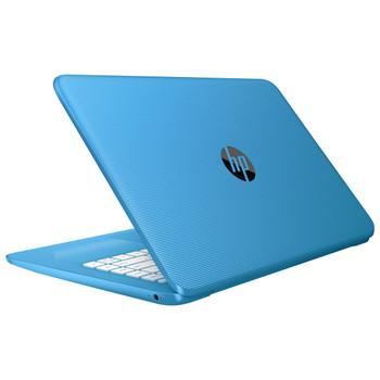 "HP Stream Laptop 14-ax030ca - Intel Celeron, 4GB RAM, 32GB SSD, 14"" Display, Windows 10, Blue"