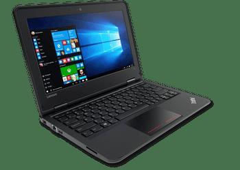 "Lenovo ThinkPad 11E - 11.6"" Notebook, Intel Celeron – 1.10GHz, 8GB RAM, 128GB SSD, Windows 10 Pro"