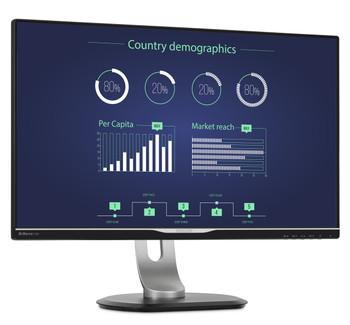 Philips Monitor 25in USB-C Docking Monitor IPS Panel Quad HD 2560x1440
