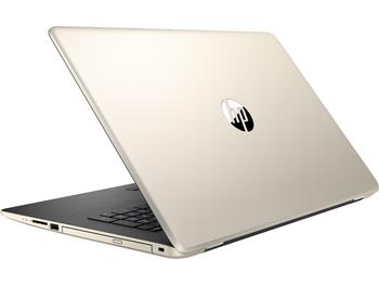 """HP 17z-ak000 Notebook - AMD A12 X4 -2.70GHz, 8GB RAM, 1TB HDD, 17.3"""" Display, Silk Gold"""