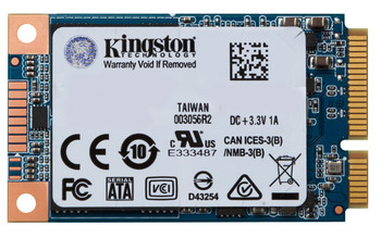 Kingston Technology UV500 240GB mSATA Serial ATA III Solid State Drive