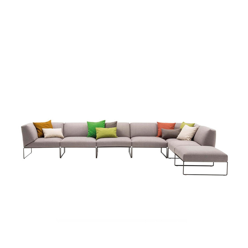 Andreu World Siesta Sofa, left corner sofa module