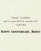DSM 3005 - Anniversary Card