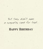 DSM3333 - Birthday Card