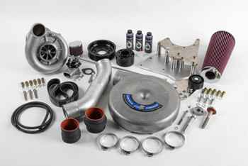 LS Swap Supercharger Kit, Carbureted, V-3, Si-Trim, Satin Finish - Vortech Superchargers 4GX218-020L