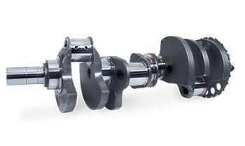 """Scat Forged LS7 4.125"""" Stroke Crankshaft 4-LS7-4125-6125-58 - 58x, 2.100"""" R.J."""