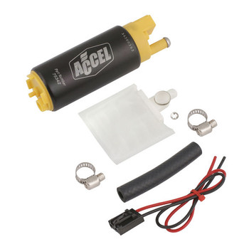 ACCEL 75342 FUEL PUMP - THRUSTER 500 - DOM/IMP - HIGH PERFORMANCE - 500 LB/HR @ 43.5 PSI / 450 LB/HR @ 60 PSI