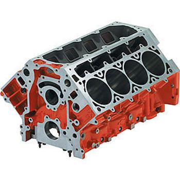 "Chevrolet Performance LSX 9.260"" Deck Iron Bare Block 19260093 - 3.880"" Bore"