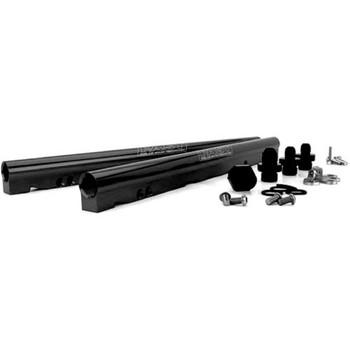 FAST LSXRT Gen III Billet Fuel Rail Kit 146028B-KIT - Black
