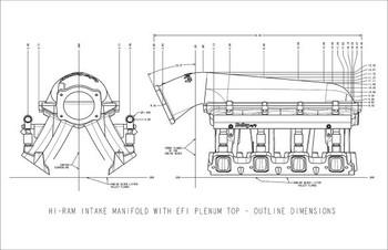 Holley Sniper Hi-Ram LS1 Carbureted Intake Manifold 821051