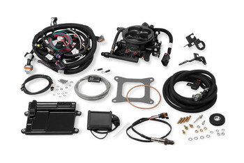 Holley Terminator EFI GM LS 24x Gray TBI Kit 550-410