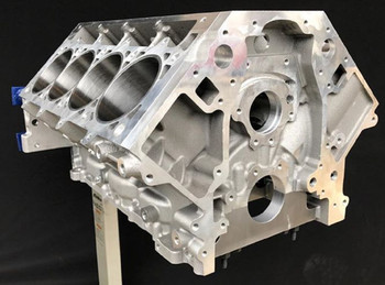LSR Tall Deck Aluminum Race Block Double Cross Drilled LSR-TD2X