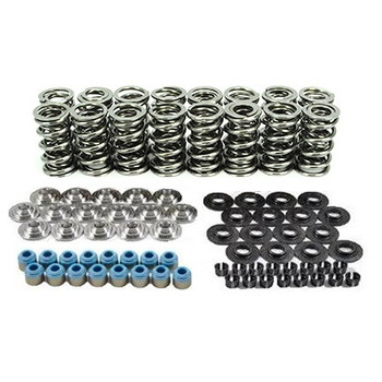"80540K1TS XceleRate Series Dual Valve Spring Kit - 1.300"" O.D. x 0.675"" Max Lift - Tool Steel Retainers - 7 Degree"