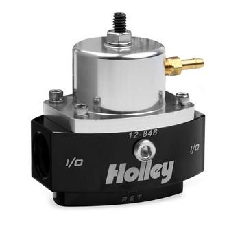Holley HP Billet EFI Fuel Pressure Regulator 12-846 (15-65 psi)