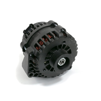 GM LS Truck AD244 Style High Output 220 Amp Black Alternator