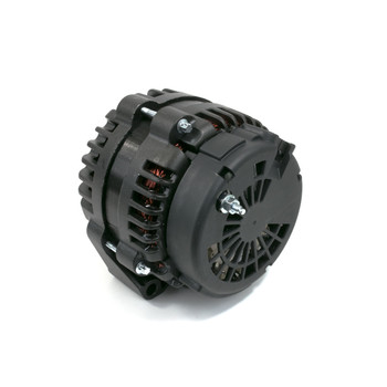 GM LS AD244 Style High Output 220 Amp Black Alternator