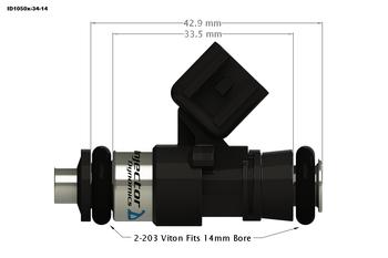 Injector Dynamics ID1050X for GM LS3/LS7/L76/L92/L99