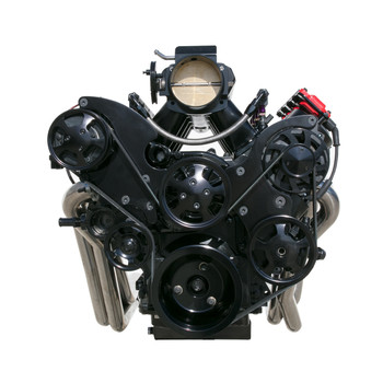 GM LS Blacked Out Front Accessory Drive Kit