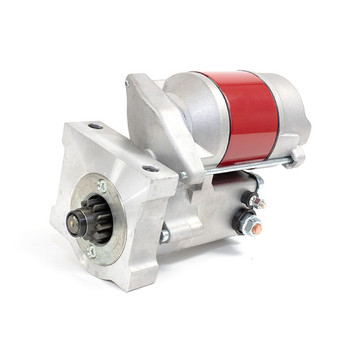 GM LSX High Torque Compact Mini Starter - Red