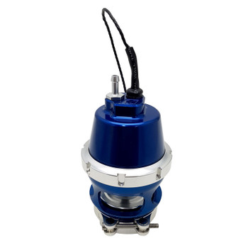 Turbosmart Power Port Blue Blow-Off Valve w/ Sensor Cap