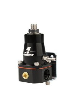 Aeromotive Adjustable Compact EFI Bypass Fuel Pressure Regulator - Black