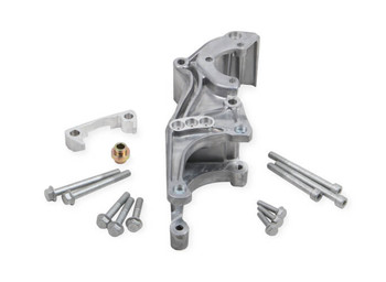 Holley LS Low Mount Accessory Drive Bracket - P/S & Alternator 20-155