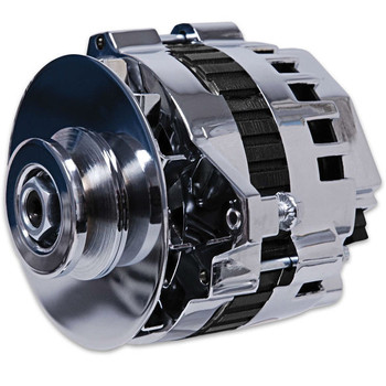 MSD Dynaforce Alternator 5322 - Chrome 120 Amp