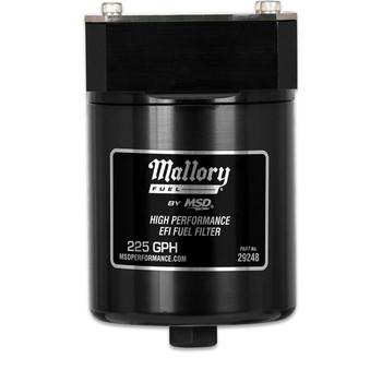 Mallory EFI Hi-Pressure Fuel Fulter 29248 - 225 GPH
