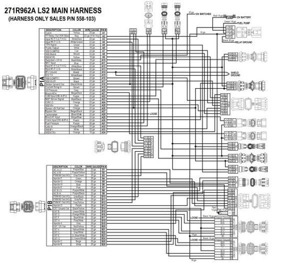 holley ls hp efi ecu harness kit 550 602n 24x reluctor. Black Bedroom Furniture Sets. Home Design Ideas