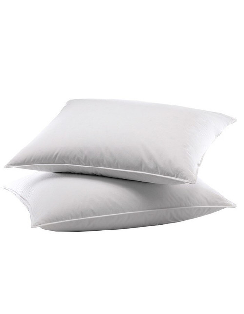 Our luxury down sleeping pillows will provide comfort for years and years. If your purchasing some new pillows, don't for get to add pillow protectors to your shopping cart. Pillow protectors will keep you luxury pillows cleaner and will add years of life to your investment.