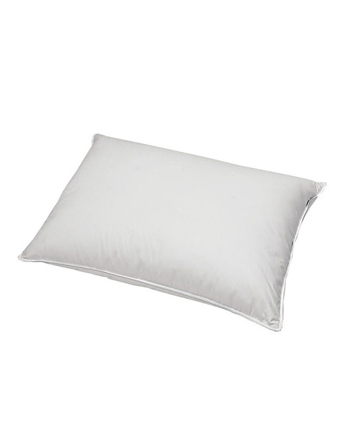 """Our feather sleeping pillows provide excellent neck and head support. Exceptionally priced they are great to sleep on of to fill a decorative sham. Our feather pillow inserts are available in Standard size 20"""" x 26, King 20"""" x 36"""" and Euro 26"""" x 26"""" size."""