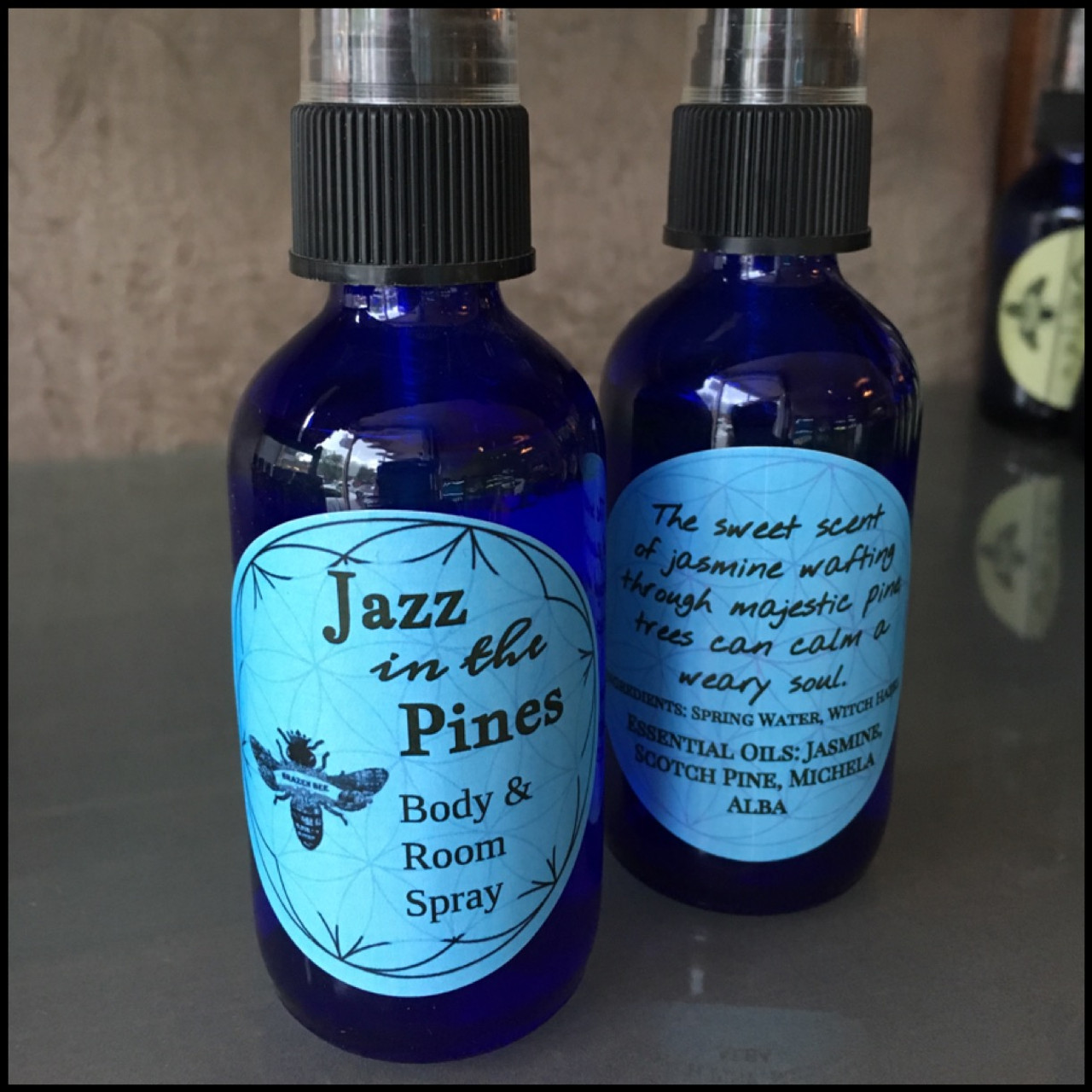 Jazz In the Pines: Jasmine Essential Oil, Pine Essential Oil, Michelia Alba Essential Oil