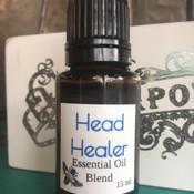 Head Healer Essential Oil Blend: Headaches, Migraines, Exhaustion