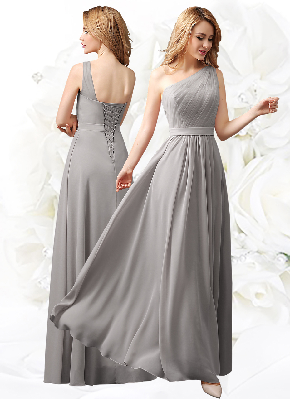 Long Chiffon Lace Evening Formal Party Ball Gown Prom Bridesmaid ...