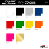 Digi-Cut - Removable Sign and Wall Vinyl (popular colour swatches)