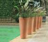 Bleeker Planters outside setting
